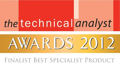 Logo, Finalist Best Specialist Product, Technical Analyst Awards 2012